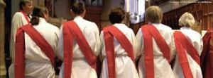 Deacons in their typical wear