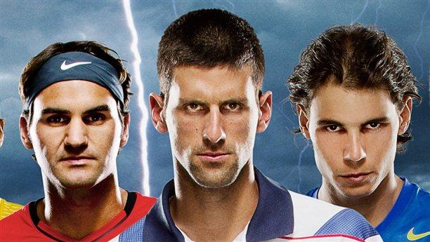 Federer, Djokovic, Nadal 1