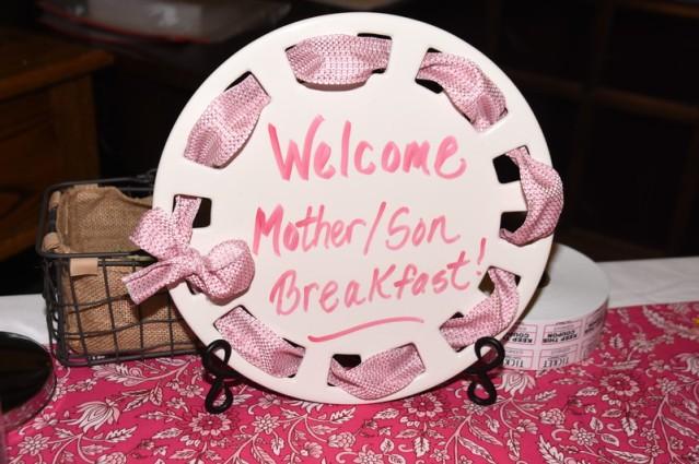 Mother son Breakfast